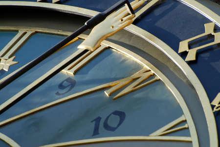 allegorical: Detail of astronomical clock in Prague, Czech republic Stock Photo