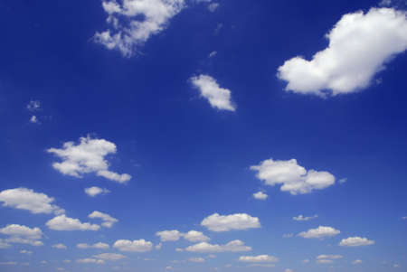 Sky full of small clouds - bright natural texture Stock Photo - 3747584