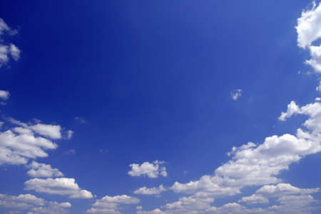 Sky full of small clouds - bright natural texture Stock Photo - 3747585