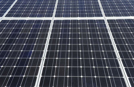Detailed background of a big solar panel Stock Photo - 8848420