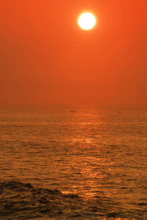A new day is beeing born above the ocean - Sunrise photo