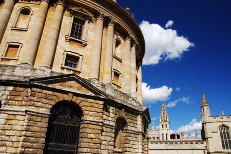 Famous Radcliffe Camera in Oxford - Oxfordshire, Great Britain photo