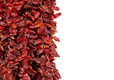 red chilly: Red hot peppers are used in Tunisia to make popular harissa