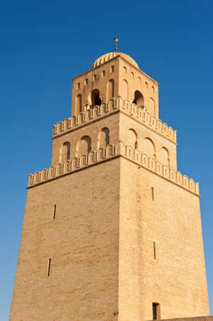 Great Mosque of Kairouan, Tunisia is the fourth most sacred place of islam  photo