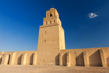 Great Mosque of Kairouan, Tunisia is the fourth most sacred place of islam  Stock Photo