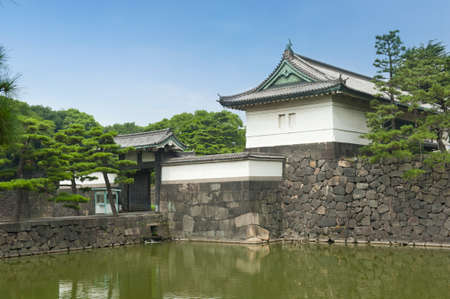 tokyo prefecture: Outer tower of Iperial Palace in Tokyo, Japan