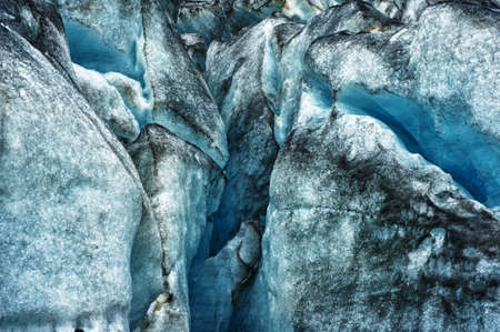 Detailed photo of the Icelandic glacier ice with a incredibly vivid colors and a nice texture Stock Photo - 14646485