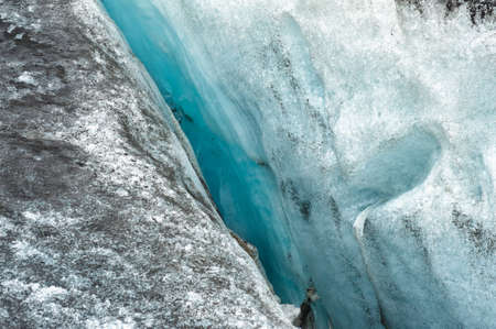 Detailed photo of the Icelandic glacier ice with a incredibly vivid colors and a nice texture Stock Photo - 14646482