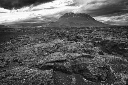Herdubreid is one of the most beautiful Icelandic volcanos photo
