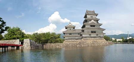 honshu: Beautiful medieval castle Matsumoto in the eastern Honshu, Japan Editorial