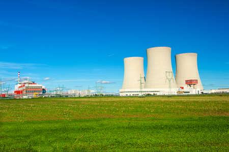 temelin: Nuclear power plant Temelin in the Czech Republic