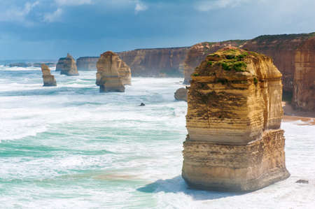 Twelve Apostles, natural landmark near the Great Ocean Road. Victoria, Australia photo