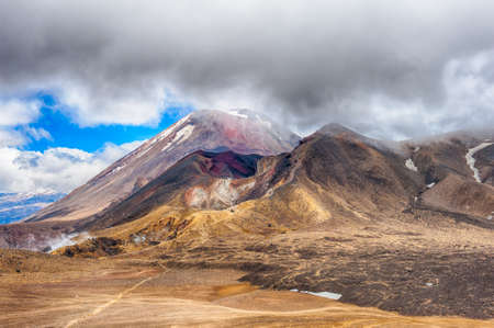 stratovolcano: Mount Ngauruhoe is a famous stratovolcano in a Tongariro national park, New Zealand