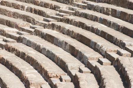 roman amphitheatre: Antiguo anfiteatro romano en �feso, Turqu�a Foto de archivo
