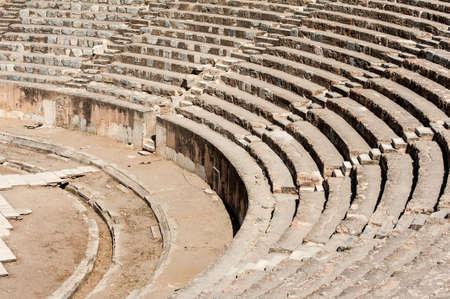 roman amphitheater: Ancient Roman Amphitheater in Ephesus, Turkey