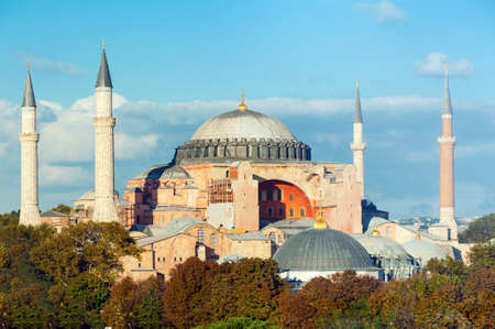 sophia: Hagia Sophia in the evening, Istanbul, Turkey