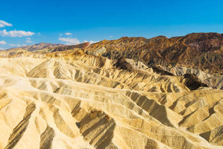 death valley: Badlands of the Death Valley National Park seen from Zabriskie Point. California USA