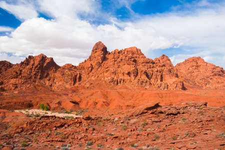 nevada: Amazing colors and shape of the rocks in Valley of Fire State Park, Nevada, USA