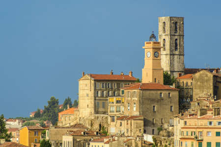 french perfume: Old town of Grasse, town in Provence famous for its perfume industry, France Stock Photo