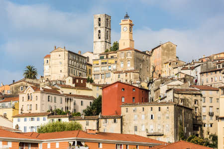 Old town of Grasse, town in Provence famous for its perfume industry, France Stok Fotoğraf