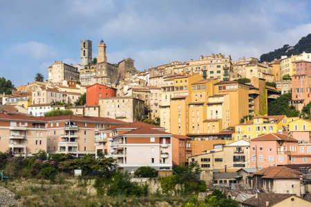 france perfume: Old town of Grasse, town in Provence famous for its perfume industry, France Stock Photo