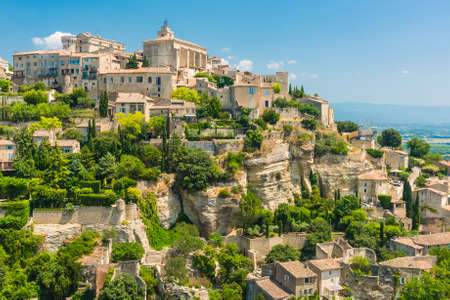 Small but beautiful old town of Gordes, Provence - France