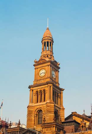 building structures: Sydney city hall, Australia
