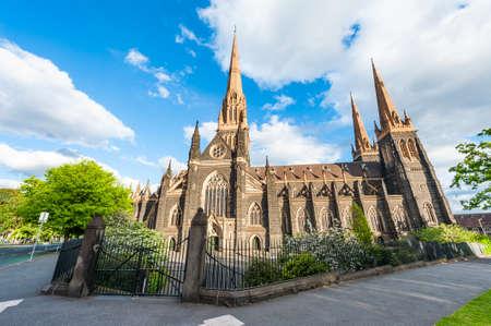 St. Patricks Roman Catholic Cathedral in Melbourne, Victoria, Australia