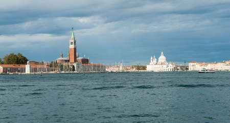 View at Venice from the sea. Italy