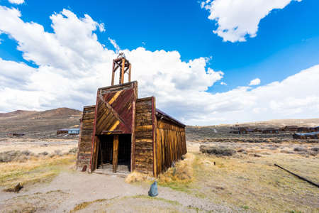 Ghost town of Bodie is a National Historic Landmark. It is located in Mono County, Sierra Nevada - California. United States of America. The town was founded in 1859.