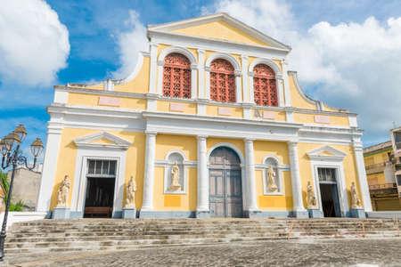 Cathédrale Saint Pierre Saint Paul à Pointe-à-Pitre en Guadeloupe, Antilles françaises