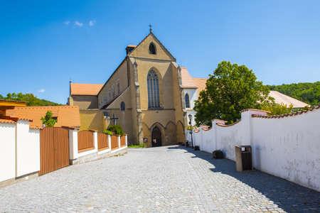 Historic christian monastery Zlata Koruna (Golden Crown) established by king Premysl Otakar II in 13th century. Southern Czech Republic