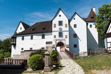 Seeberg castle near the city of Frantiskovy Lazne, Czech Republic
