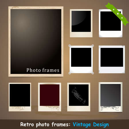 picture card: Vintage Photo Frame