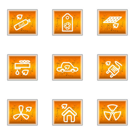 Set of 9 glossy web icons (set 17). Stock Vector - 16241384