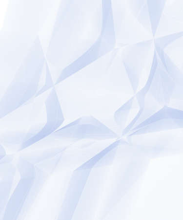 cruddy: Texture of white rumpled paper background. Stock Photo