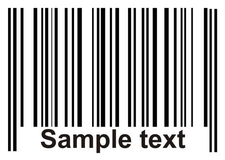 Barcodes  Seamless background  Gray color