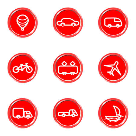 Glossy icons set 8 (see other in my portfolio). Stock Vector - 16645168