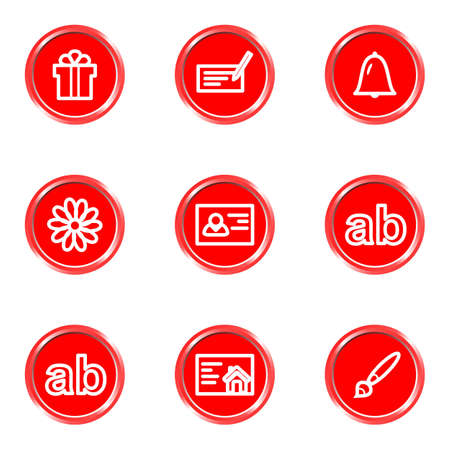 icq: Glossy icons set 18 (see other in my portfolio). Illustration