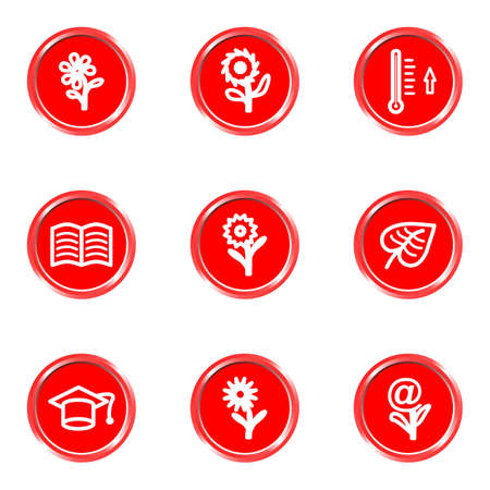 Glossy icons set 23 (see other in my portfolio). Illustration
