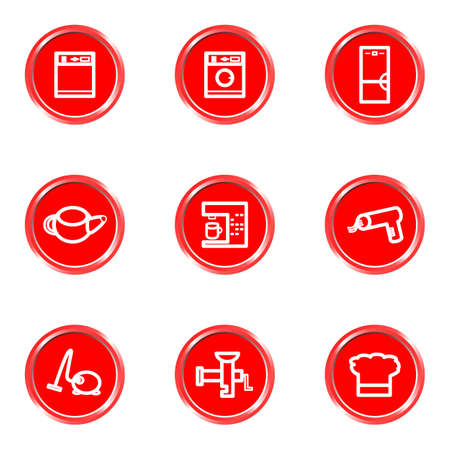 Glossy icons set 26 (see other in my portfolio). Vector