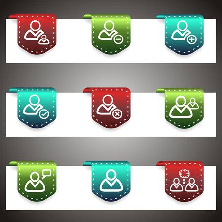 Color icons set.   Stock Vector - 16876144