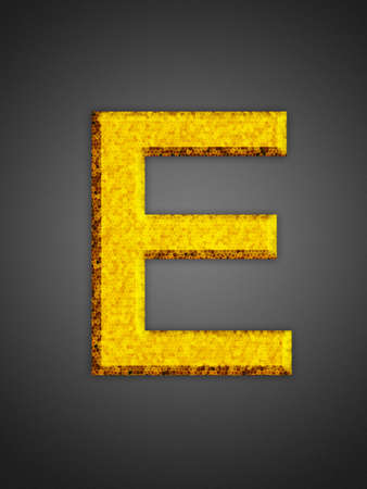 Beautiful abstract party symbol. Yellow glowing font. Stock Photo - 16876890