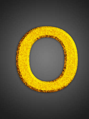 Beautiful abstract party symbol. Yellow glowing font.  Stock Photo - 16876893