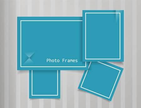 Frames Design Background  Template Stock Vector - 18846200