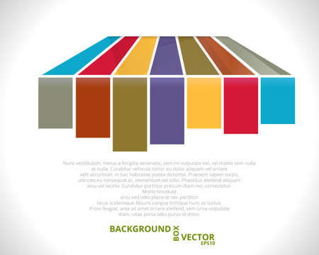 Color Line Background  Vector Template