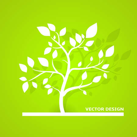 Eco Vector Design  Green Color