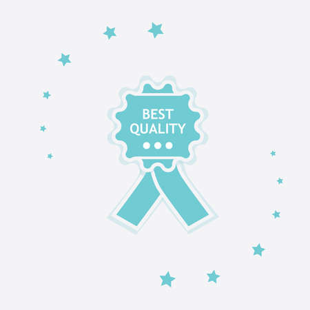 Best quality icon. Vector design isolated label