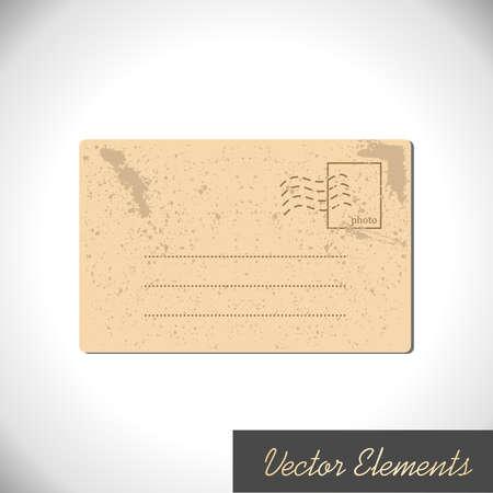 Retro Paper Elemen