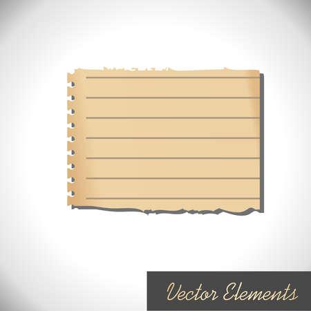Retro Paper Element